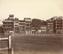 Part of the Fort, Bombay in 1864.
